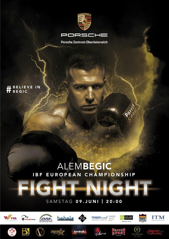 Fight Night in Linz/Österreich