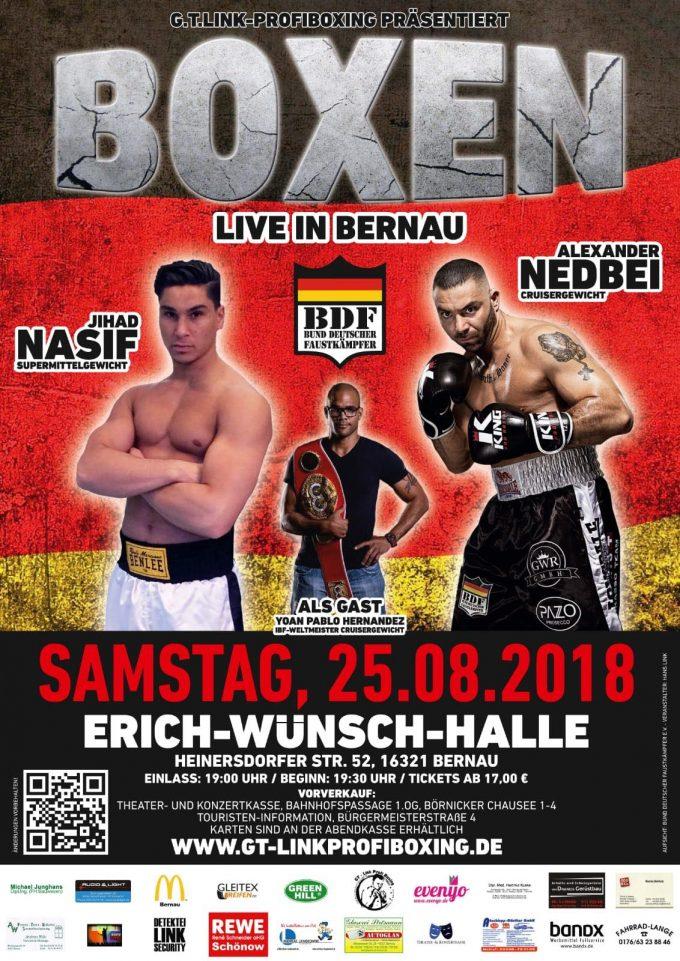 BOXEN Live in Bernau