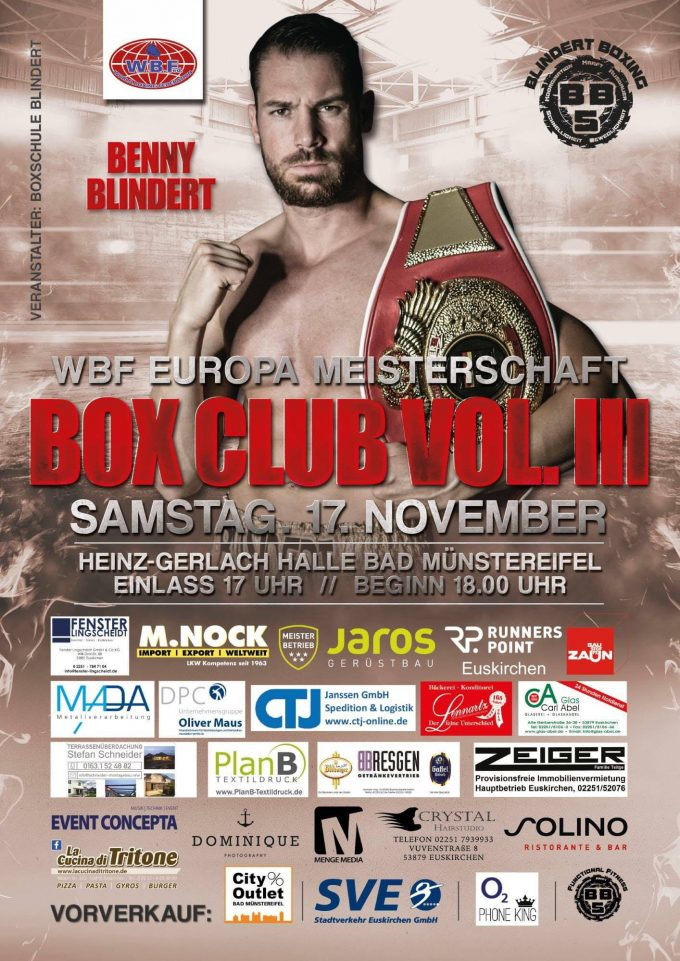 BOX CLUB VOL. III in Bad Münstereifel