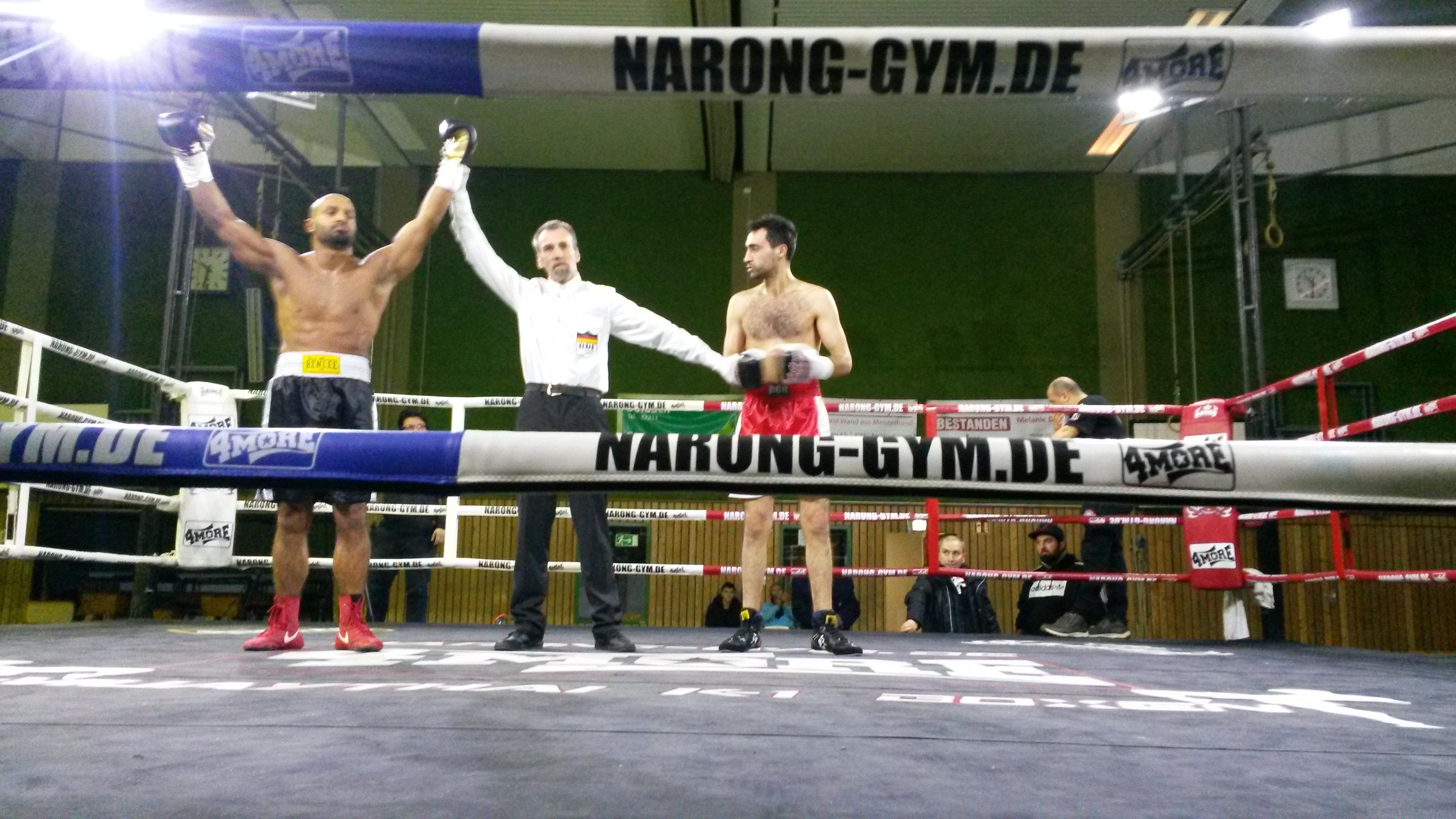 Helmut-Pardon-Halle Recklinghausen Veranstaltung vom 27.01.2019/Ergebnisse